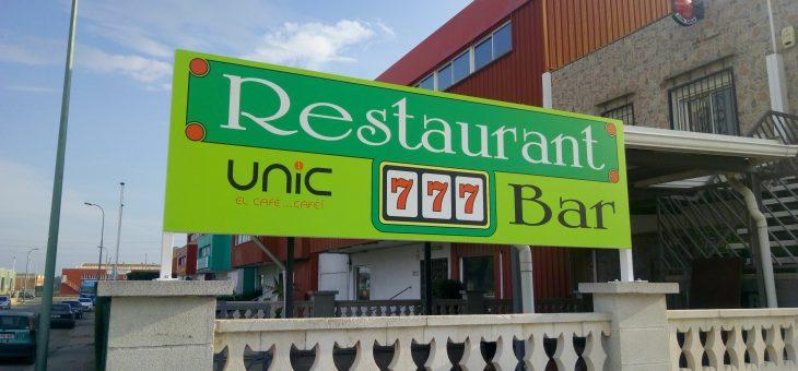777: PROYECTO de BAJA TENSIÓN para nuevo bar restaurante
