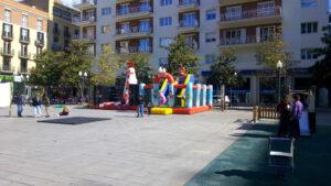 XIQUETS DE TARRAGONA: parc inflables 1
